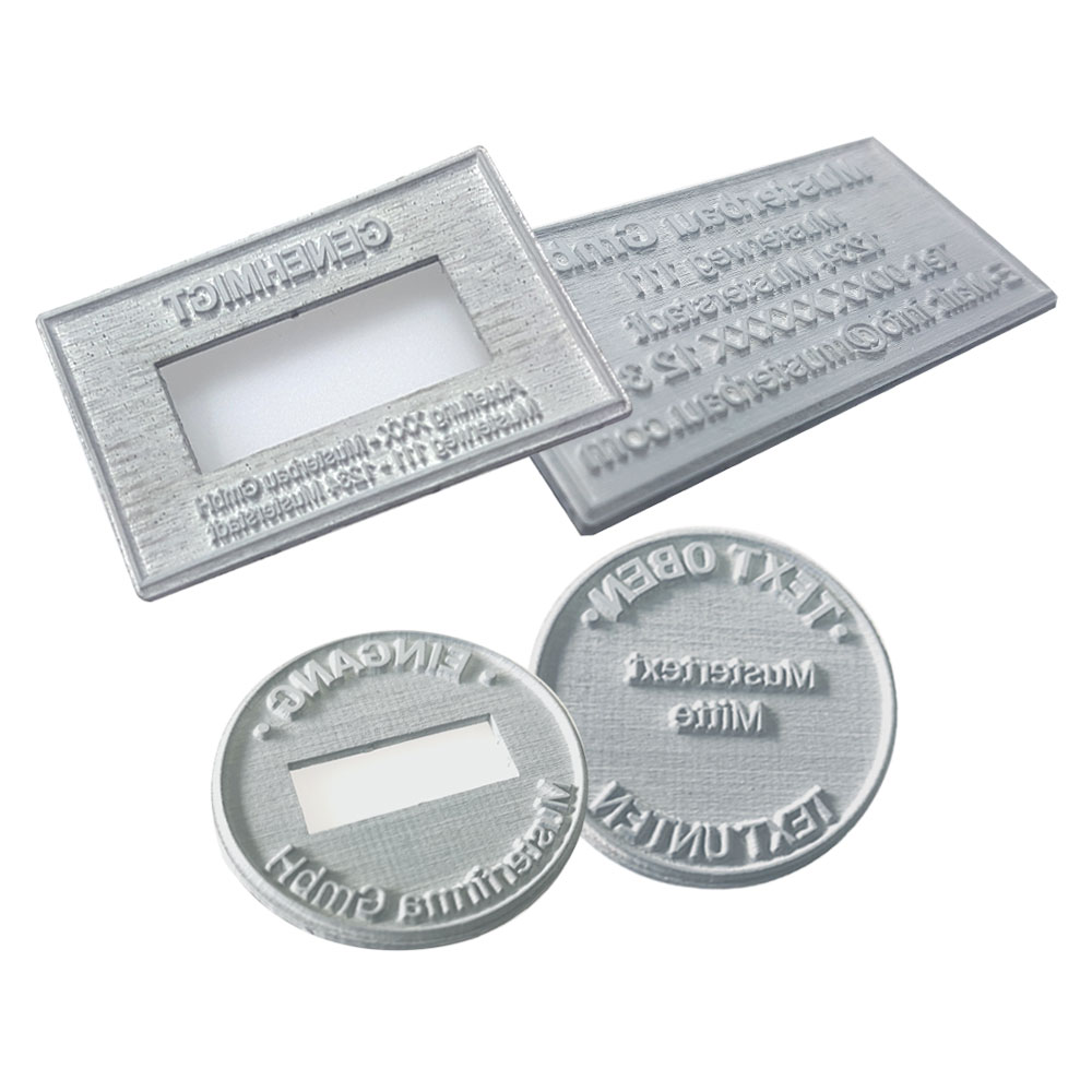Replacement Text plates