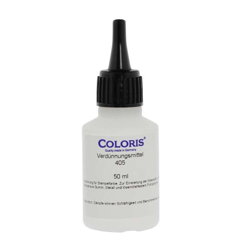 Solvent 405 for fast drying ink R9 (50ml)