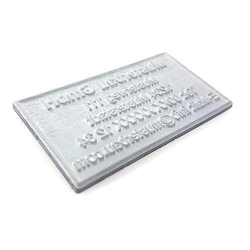 Replacement text plate Colop 3600 (incl. ink pad E/2600)