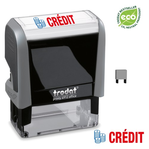 Trodat Office Printy 4912 'CREDIT'