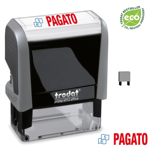 Trodat Office Printy 4912 'PAGATO'
