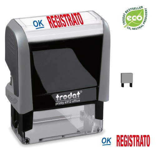 Trodat Office Printy 4912 'REGISTRATO'