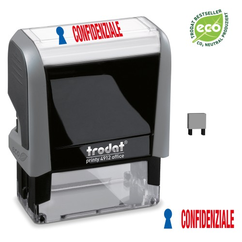 Trodat Office Printy 4912 'CONFIDENZIALE'