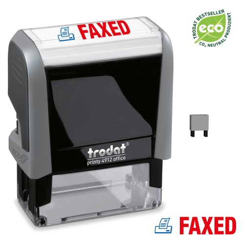 Trodat Office Printy 4912 'FAXED'